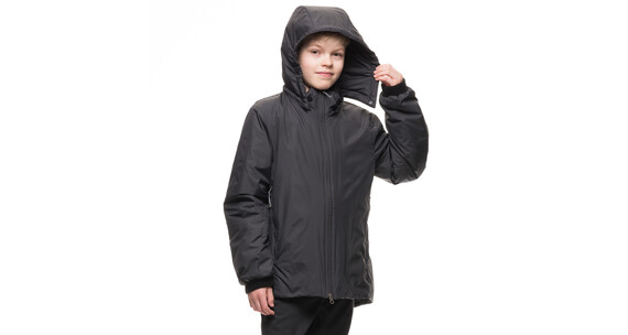 Houdini Juniors Switch Jacket Rock Black